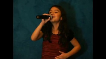8 yr Old Krystin singing Revelation Song by: Kari Jobe
