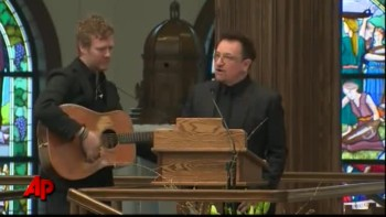 Bono/Glen Hansard: Make Me a Channel of Peace