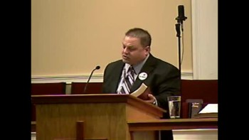 "Send the Rain: Spirit in Control - A Picture of Power"" 2-6-2011 - Sun AM Preaching  - Community Bible Baptist Church 1of2"