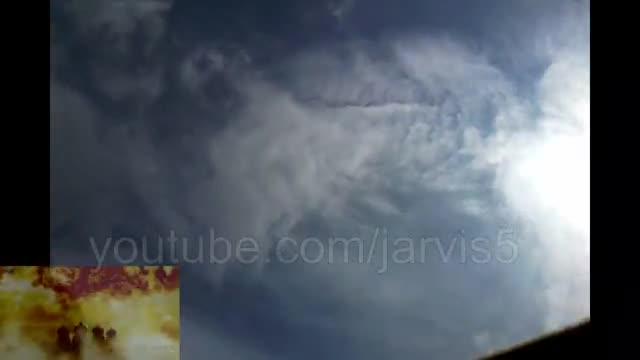 """This Is Footage Of A Real Angel In The Sky!! """""""