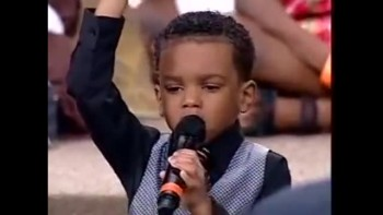 5 Year-Old Prays Unforgettable Prayer