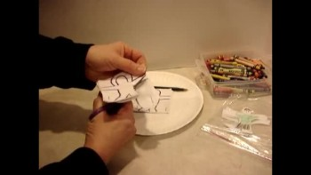 Witnessing with Paper Dolls_Sarah Poff's art hands