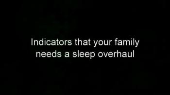 Archibald Hart: Sleep it Does a Family Good