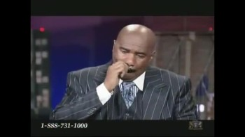 Steve Harvey's Tearful Testimony