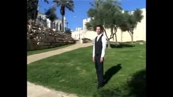 Revelation 4, filmed outside the Old City of Jerusalem, Israel (Tom Meyer)