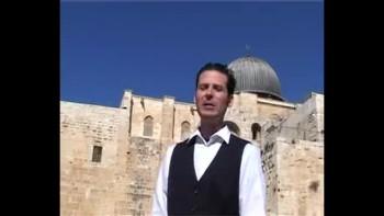 Revelation 5, filmed outside the Old City of Jerusalem, Israel (Tom Meyer)