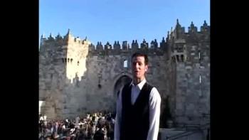 Revelation 8, filmed outside the Old City of Jerusalem, Israel (Tom Meyer)