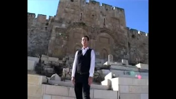 Revelation 15, filmed outside the Old City of Jerusalem, Israel (Tom Meyer)