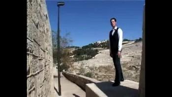 Revelation 19, filmed outside the Old City of Jerusalem, Israel (Tom Meyer)