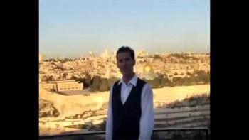 Revelation 21, filmed on the Mount of Olives across from Jerusalem, Israel (Tom Meyer)