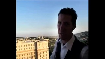Revelation 22, filmed outside the Old City of Jerusalem, Israel (Tom Meyer)