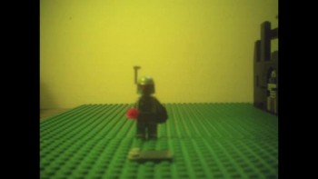 Boba Fett builds Mini Slave I