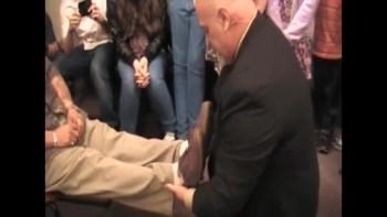 Spinal tumor Gone in the name of Jesus! Healing Evangelist Glen Brown