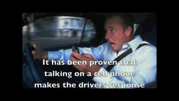 Using cellphones while driving