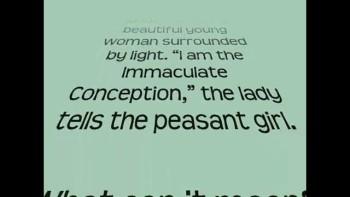 St. Bernadette Soubirous graphic novel