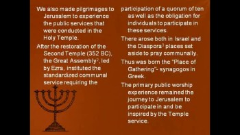 Who invented the Synagogue?