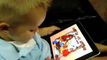 Baby Is a Master of the iPad