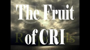 Breaking the Silence: The Fruit of CRI