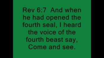 Green Horse of Rev.6 caught on camera in Egypt