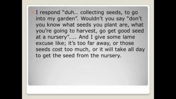 seed time + harvest