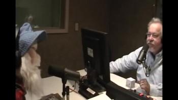 Eli the Puppet on the Radio at WPOS