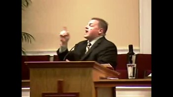 """""""Characters Around the Cross - The Couple Around the Cross""""  Sun AM Preaching - 4-3-2011 - Community   Bible Baptist Church 1of2"""