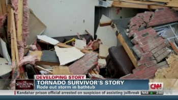 Tornado Survivor Gives God Glory