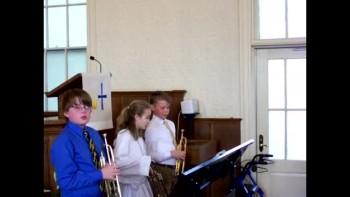 """OSLC """"Easter Hymn"""" w/ trumpet trio"""