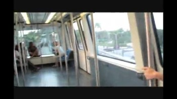 My family in Miami Metromover