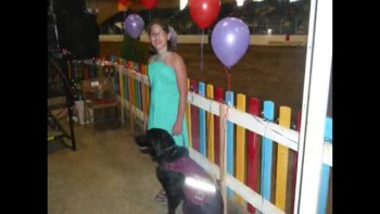 IN MEMORY OF ELROY. KATE'S AUTISM ASSISTANCE DOG GUIDE