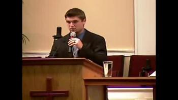 """4 Characteristics of a Christian Life"" - Sun PM Preaching - 5-8-2011 - Community Bible Baptist Church"