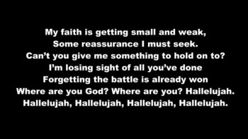 Christian songs about losing someone