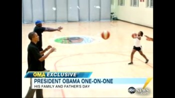 Father's Day with President Obama