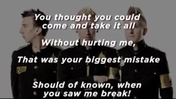 Thousand Foot Krutch - Outta Control (Slideshow With Lyrics)