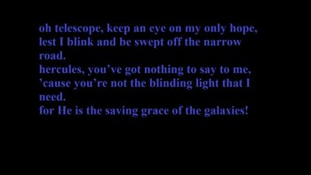 Owl CIty, Galaxies. W/ Lyrics
