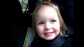 Cute Toddler Singing Jesus Loves Me