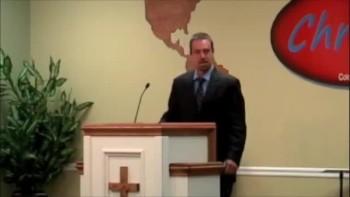 Pastor Riggins at Glenwood Springs Baptist Church