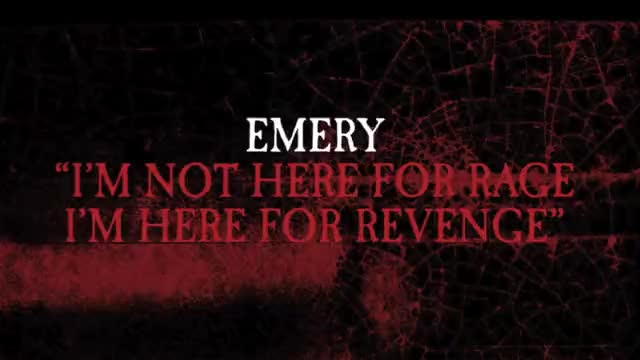 Emery - I'm Not Here For Rage, I'm Here for Revenge (Slideshow with Lyrics)