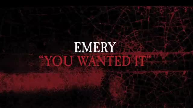 Emery - You Wanted It (Slideshow with Lyrics)