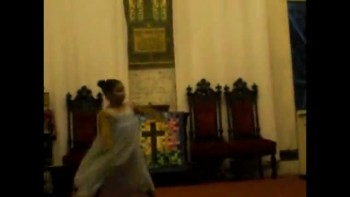 Analisse just 7 years old but a big worshipper of God