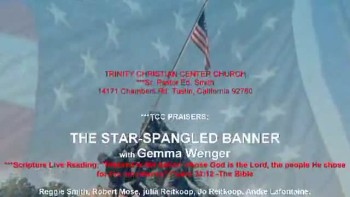 THE STAR-SPANGLED BANNER-Gemma Wenger