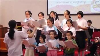 20110710 兒童詩班 shout to the lord