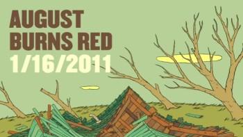 August Burns Red - 1/16/11 (Slideshow with Lyrics)