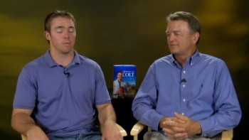 Colt McCoy & His Father Discuss Growing Up Colt