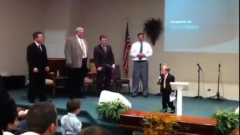 Baby Preacher Is At It Again!