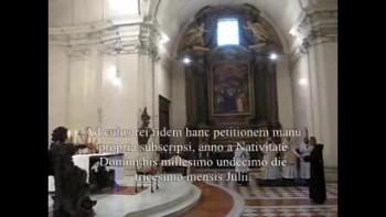 Br. Ignatius Jakarta, Solemn Profession of Monastic Vows