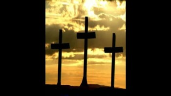 Three Wooden Crosses - Slideshow