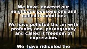 Billy Graham's Prayer For Our Nation