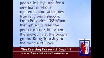 The Evening Prayer - 02 Sep 11 - Libya on the Brink of Freedom?