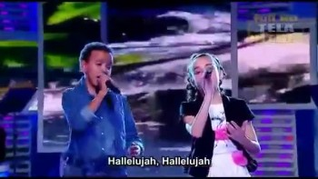 INCREDIBLE Duet - Jotta A  Michely Manuely Sing Hallelujah